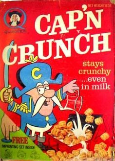 0ee57ac8d1d  70s Cereal. I think it was the only cereal we ate Crunch Cereal