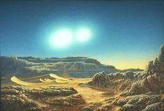 081_BinarySun Don Dixon space art