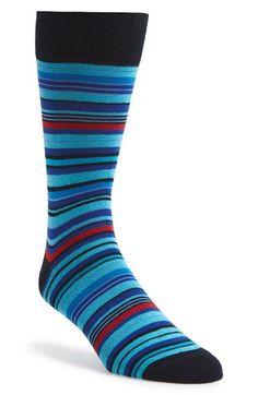 Lorenzo Uomo Socks Stripe