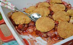 Szilvás almás cobbler - paleo