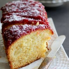 Coconut Pineapple Loaf Cake - Enjoy the fresh, cheerful, summery flavors of tropic in this cake that is annoyingly addictive Tea Recipes, Coffee Recipes, Cake Recipes, Dessert Recipes, Recipies, Cookie Desserts, Just Desserts, Delicious Desserts, Yummy Food