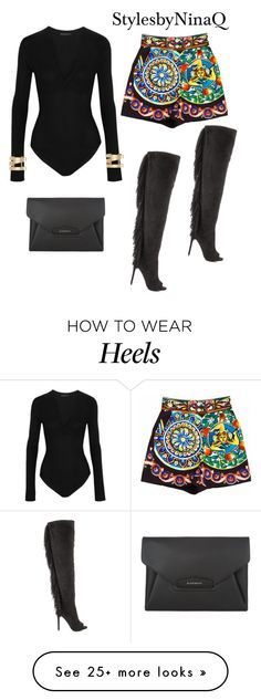 """Untitled #402"" by nina-quaranta on Polyvore featuring Privileged, Donna Karan, Dolce&Gabbana, Givenchy and Isabel Marant"