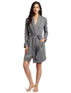 HUE Women's Shawl Collar Wrap Robe -$32.99