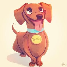 Day 14: #SomethingYoureReading I'm planning on getting a #dachshund puppy soon so I've been reading a lot about how to train and take care of one. I've wanted one since I was 9 but my dad wouldn't let us have a dog. Now that I have my own place, I'm going #DogCartoon
