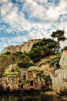 Old Town, Dubrovnik. Lovrijenac Fortress.