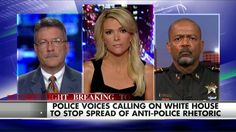 """9/1/15 - Clarke: Obama Has an Obligation to Speak Out Against 'Anti-Cop SLIME'. . . . Milwaukee County Sheriff David Clarke said on """"The Kelly File"""" tonight that President Obama has an obligation to speak out against the anti-police rhetoric that is coming from groups like Black Lives Matter."""