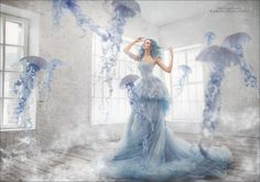 Jellyfish by Margarita Kareva on #500px #fashion #photography