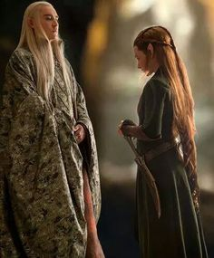 """You will never allow your son to marry a lower silvan elf"" -- ""You right. I won't"" :'("