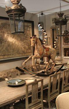 Henhurst Interiors ▇  #Vintage #Home #Decor  via - Christina Khandan  on IrvineHomeBlog - Irvine, California ༺ ℭƘ ༻