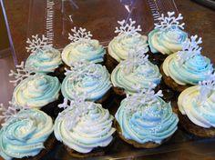 """Frozen"" cupcakes"
