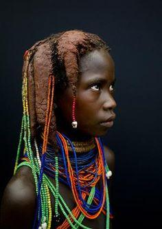 Mudimba tribe, Angola by Eric Lafforgue