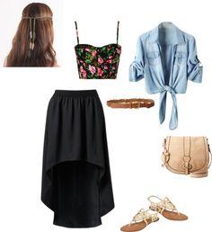 """dressy school outfit"" by heyheysabrina on Polyvore"