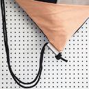 Selbstgenähter Turnbeutel aus festem Stoff mit geometrischem Muster.   Die vorderen Dreiecke bilden nochmal eine zusätzliche Tasche!    Mit jeweils farblich angepassten Innenfächern und...
