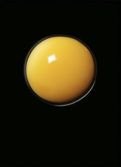 Egg Yolk on Black by Andy Grimshaw Food Photography Styling, Food Styling, Art Photography, Rainbow Kitchen, Egg Art, Mellow Yellow, Color Yellow, Yellow Black, Still Life Photography