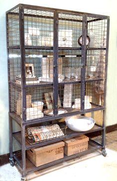 Steel Wire Cabinet
