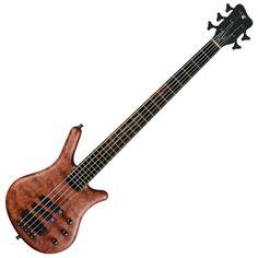 Warwick Thumb 5-String Bass Guitar, Natural Oil Finish at Gear4music.com