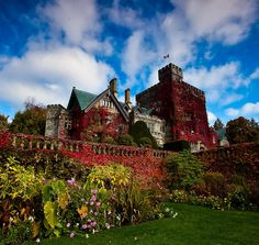 Hatley Castle and its Gardens - Vancouver Island British Columbia