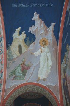 Church Interior, Byzantine Icons, Orthodox Icons, Religious Art, Fresco, Jesus Christ, Style Icons, Contemporary, Pictures