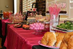 Food table- paris party