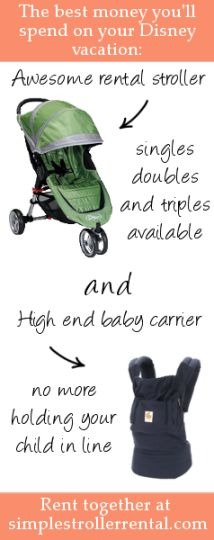ed7f26ef0a Military Discounts on Disney Stroller Rentals Disney Resorts