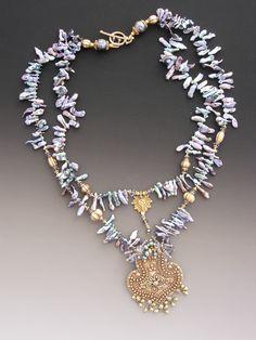 ♥ . . ✿⊱╮. ★ . . ╭✿⊰ ♥ . . ★ . . ♥ ☽★☀☆☾ #beautiful #jewellery by Lucia Antonelli