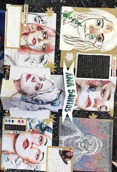 My original artist study for school A Level Art Sketchbook, Sketchbook Layout, Textiles Sketchbook, Arte Sketchbook, Sketchbook Pages, Sketchbook Ideas, Kunstjournal Inspiration, Sketchbook Inspiration, Photography Sketchbook