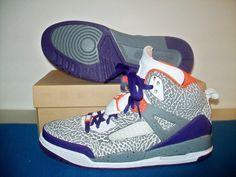 New Rare Air Jordan Nike ID Spizike Gray Cement #DeadStock Shoes #SNEAKERS