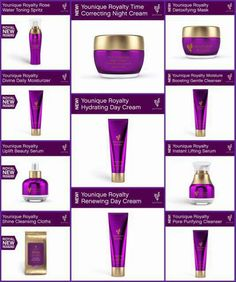 New Royalty skin care available soon! www.youniqueproducts.com/JennMoore