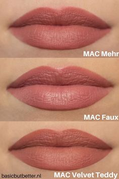 Discover recipes, home ideas, style inspiration and other ideas to try. Mac Lipstick Shades, Colourpop Lipstick, Maybelline Lipstick, Green Lipstick, Berry Lipstick, Red Lipstick Makeup, Mac Matte Lipstick, Beauty Tips, Makeup Products