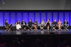 Cast members and creatives of ABC's #Scandal at PaleyFest LA 2015. #PaleyFest #YahooLive