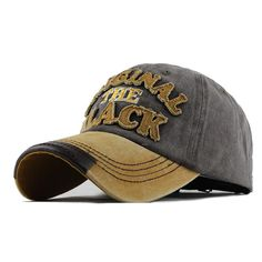 0ae40bd9700 The Original Black Patched Baseball Cap. Fitted CapsBasketball  CourtBasketball ShoesWash ...