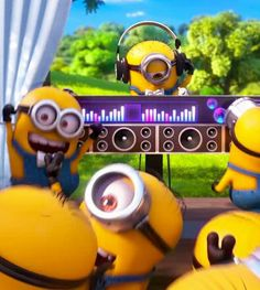 Let's party till we see minions