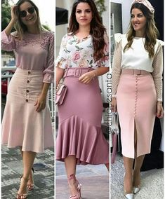 40 bottom outfits to update you wardrobe this winter. African Fashion Dresses, African Dress, Fashion Outfits, Elegant Dresses, Cute Dresses, Dress Skirt, Dress Up, Skirt Outfits, Blouse Designs