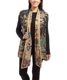 Loving this Black Reversible Vest Jacket on #zulily! #zulilyfinds