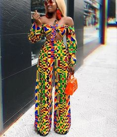 23 Must-Have African Pants to Rock This Year and Beyond! African Prom Dresses, African Dresses For Women, African Wear, African Women, African Clothes, African Style, African Inspired Fashion, African Print Fashion, Africa Fashion