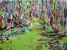 """Saatchi Art Artist Giovanni Gabassi; Painting, """"The river in the grove"""" #art"""