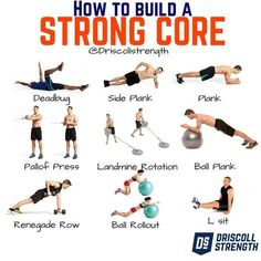 WANT TO KNOW HOW TO BUILD A STRONG CORE? Lets talk core trunk and ab strength. First things first get off your back when training your core. I advise for only a few exercises that have you belly up. Advanced Core Exercises, Core Exercises For Women, Core Strength Exercises, Back Pain Exercises, Core Muscle Exercises, Core Strength Training, Stability Exercises, Tummy Exercises, Stretches