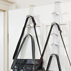 3dielny vešiak na kabelky, transparentná Clothes Hanger, Diy, Support, Ainsi, Place, Ranger, Armoire, Handbags, Google