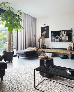 Places You Can't Miss: Contemporary Design Style! Living Room Decor Cozy, Black Walls, Home Interior Design, Home And Living, Sweet Home, New Homes, House Design, Inspiration, Furniture