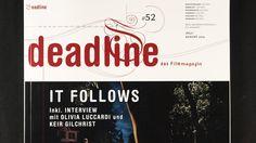 Deadline das Film Magazin - It Follows #52/2015