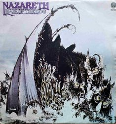 NAZARETH Hair Of The Dog 1975 Portugal Issue Rare Vinyl Lp Record 33 6370405 #HardRock