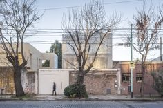 Completed in 2016 in Belgrano, Argentina. Images by Fernando Schapochnik. . The Holmberg house is a detached house, located in one of the central districts of the city of Buenos Aires; Designed for a family of four, a young...