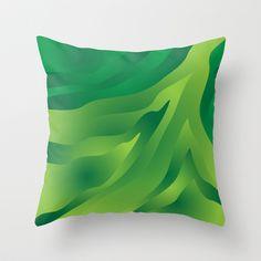 Camo Green Throw Pillow cover by Ramon Martinez Jr - $20.00