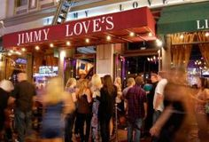 Jimmy Love's in San Diego is located in the Gaslamp District and features live music every night and happy hour specials on drinks and certain appetizers. San Diego Nightlife, Happy Hour Specials, Night Life, Neon Signs, Love, Dining, Summer, Amor, Food