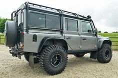 Currently in build at our Peterborough HQ is this incredible Left hand drive Defender 110 Station Wagon. Outfitted with black leather as a walk-through six seater configuration. Currently with tuned Puma 2.4,TDci and 6 speed manual but with the option of our 6.2 LS V8 petrol upgrade with 6 speed automatic gearbox for huge low down grunt and power plus that great V8 attitude we all love. Worldwide shipping always a pleasure. For complete build with 6.2 V8 final price subject to quotation but…
