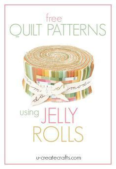 """What is a Jelly Roll in quilting terms? A Jelly Roll has forty 2½"""" x 44″ strips of fabric. These forty strips are layered, rolled up tight, and tied with a bow. Jelly Rolls are wonderful and save so much time on cutting and coordinating fabrics! You can pretty much guarantee your quilt will turn …                                                                                                                                                     More"""