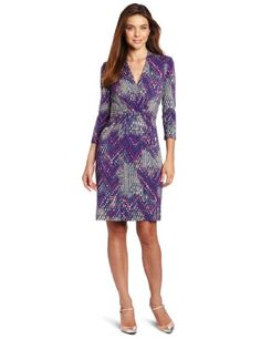 Kenneth Cole Womens Tweedy Ikat Print Pleated Dress | Traveling Of Life