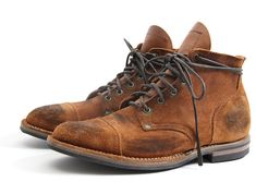 Nigel Cabourn x Viberg Service Boots for Spring/Summer 2012
