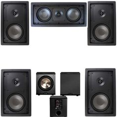 Klipsch R2650W In Wall 2 51 Home Theater SystemFREE PL200 ** Click on the image for additional details. (Note:Amazon affiliate link)