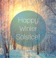 Yesterday was the first day of winter! #happywintersolstice